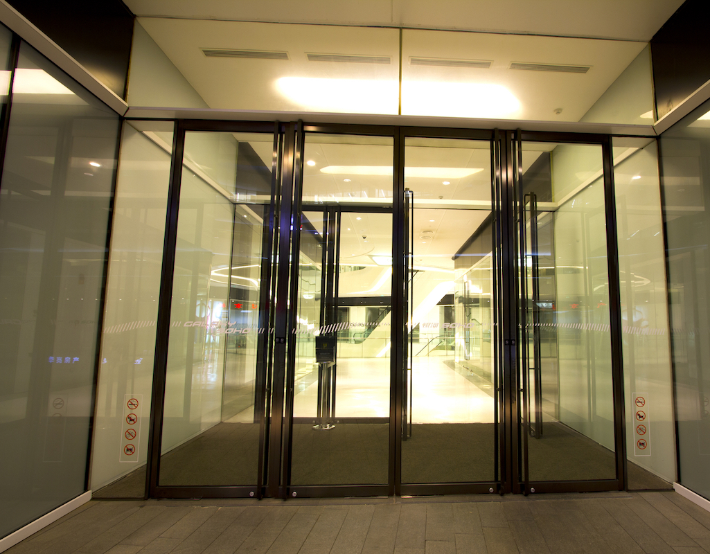 Automatic Glass Door by Advanced Door Services