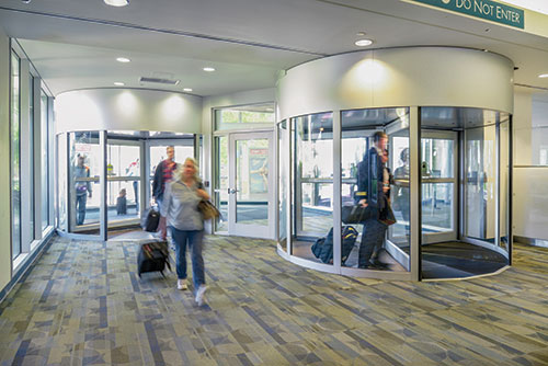 Advanced Door Services Revolving Door Sensors Error-Free