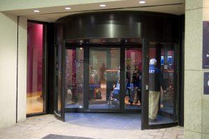 Big Size Revolving Door Ottawa, Burlington, London - Automatic Revolving Doors Systems Ontario