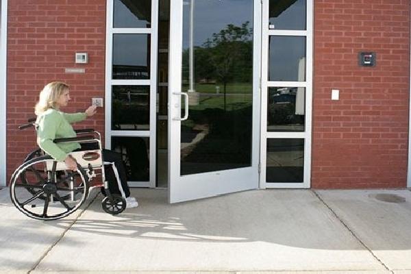 Advanced Door Services handicap door opener