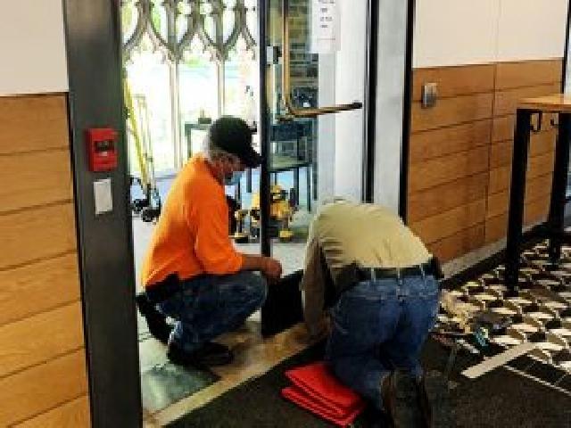 Advanced Door Services automatic door maintenance