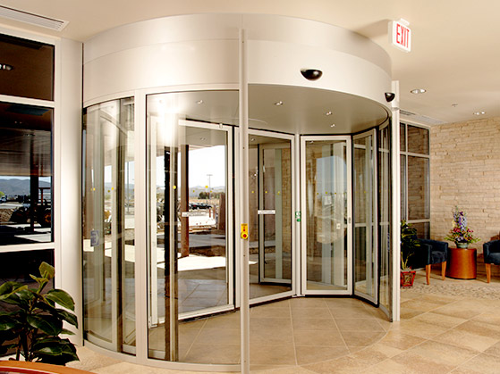 a commercial door installation by Advanced Door Service