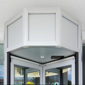 Revolving door Installation in Burlington, London, Ottawa By Horton Automatics of Ontario