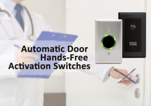 Automatic door hands free activation switches from Advanced Door Service