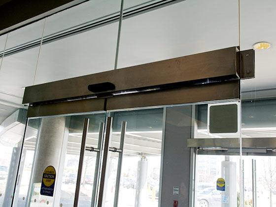 swing door operator example from Advanced Door Service